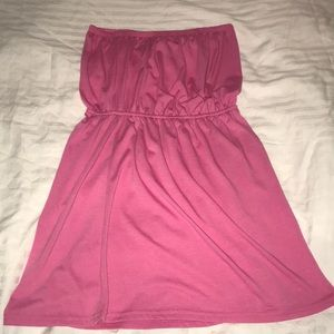 Pink Coverup dress. Size small